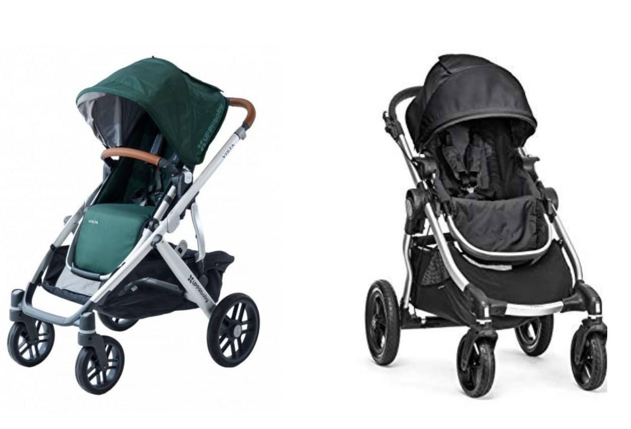 UPPAbaby Vista vs. City Select Stroller
