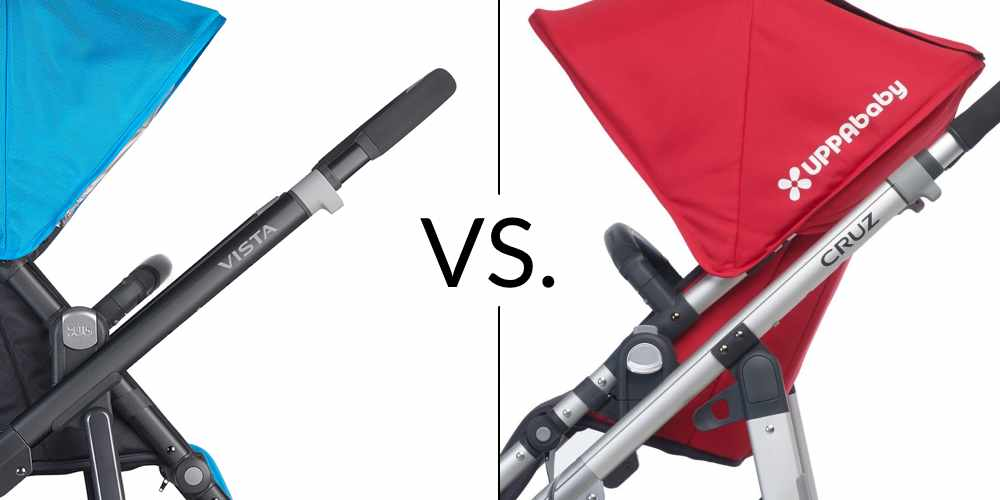 UPPAbaby Vista and cruz stroller