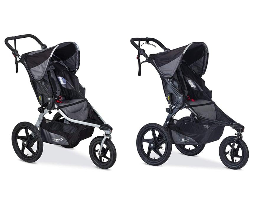 BOB Revolution PRO Vs. Flex strollers