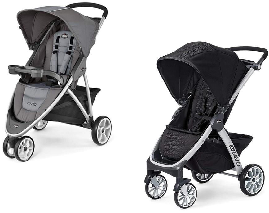 Chicco Bravo Vs. Viaro strollers