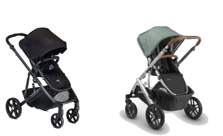 Britax B-Ready Vs. UPPAbaby Vista Strollers