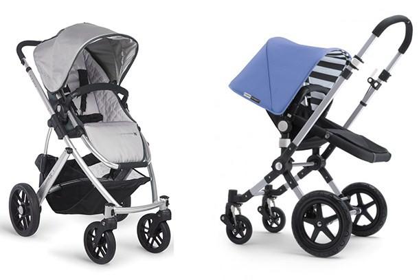Bugaboo Cameleon vs UPPAbaby Vista strollers